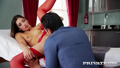 Alluring nurse Clea Gaultier heal the patient own way