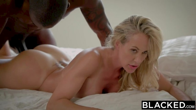 Blond milf loves his big cock