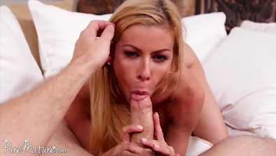 Big boobed mommy Alexis Fawx having great time with her stepson